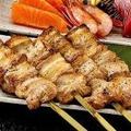 料理メニュー写真鶏もも大串/豚バラ大串