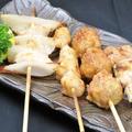 料理メニュー写真串焼き盛合せ(4本)