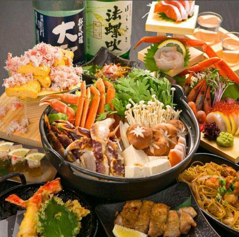 当店が誇る厳選極上海鮮や肉を食べ尽くし、飲み尽くすご満足いただけるお得な宴会コース。当店を初めてご利用の方にもお気軽にお楽しみいただけます!