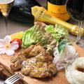 料理メニュー写真鶏もも肉のグリル