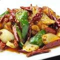 料理メニュー写真ぷりぷり大エビの唐辛子炒め/大エビのチリソース炒め