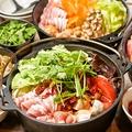 料理メニュー写真辛激のホアラジャオ鍋。