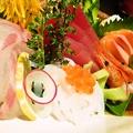料理メニュー写真刺身盛り合わせ  三種:999円(税抜)/五種:1333円(税抜)