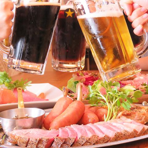 宇都宮で生ビール&ローストビーフが自慢のお店/貸切/歓送迎会/昼宴会/宴会承り中