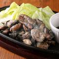 料理メニュー写真宮崎地鶏の鉄板焼き