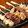 料理メニュー写真ホルモン串焼五種盛り(一人前)