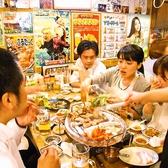 韓国路地裏食堂 カントンの思い出 上野店の雰囲気2