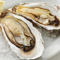 料理メニュー写真牡蠣の素焼き 2ピース