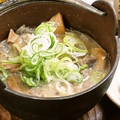 料理メニュー写真牛煮込み(カレー味もあり)