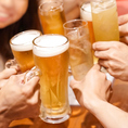 【単品飲み放題もご用意】当日注文可能です。飲み放題のみのお得なプランとなっており、会社帰りやお友達同士の集まりに最適です。