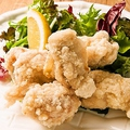 料理メニュー写真塩麹でやわらか仕込み 鶏ザンギ