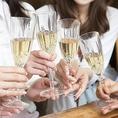 結婚式の二次会やパーティーにもオススメ!貸切宴会は最大100名様までご案内可能!大宴会向けの豪華コースもご用意しております!幹事様1名無料になるお得なクーポンも◎人数、予算等お気軽にご相談下さい。