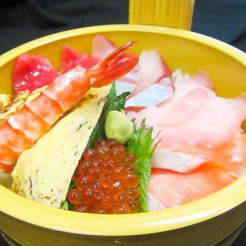 【ネット予約なら貯まったPTが使える!】海鮮丼1,000円(税込)など選べるテイクアウト♪
