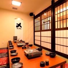 18名~23名までOKのお座敷個室もご用意しております。