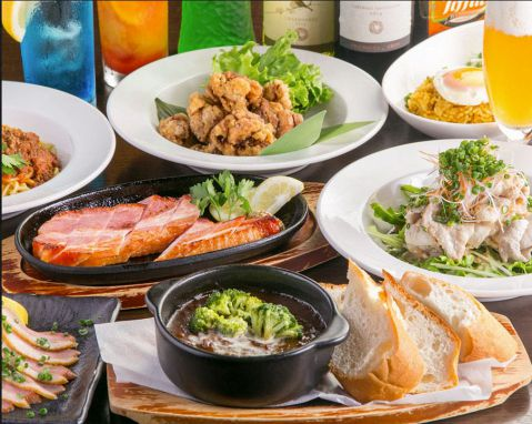 ★☆全7品☆★3時間飲み放題付☆肉好き必見・ガッツリ食べたい方に♪肉満載コース 5000円