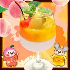 ★白桃マンゴーのナンテコッタ