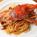 料理メニュー写真国産ワタリ蟹トマトクリームソース