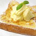 料理メニュー写真メープルフレンチトースト