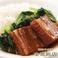 料理メニュー写真豚角煮ご飯 (※写真)/五目あんかけご飯