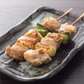 料理メニュー写真■撰乃大地鶏 ももねぎ間串(にんにくタレor塩orタレ)