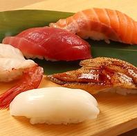 お肉と寿司が一気に味わえます♪