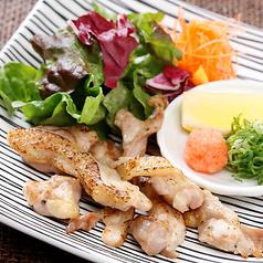 宮崎赤鶏もも肉の炙り焼き あっさりポン酢で