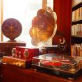 100年以上前の貴重な蓄音機(ちくおんき)から素敵なJAZZを…★