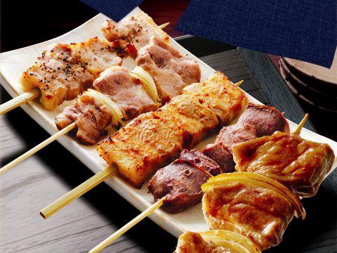 本格的な料理を低価格で!ふっくらと肉厚な串焼きは驚くこと間違いなし!
