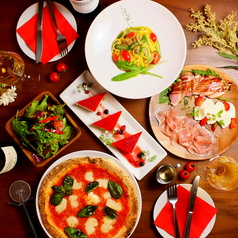 Napoli's PIZZA & CAFFE ナポリス 赤坂一ツ木通りのコース写真