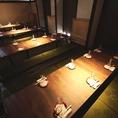【姫路・全席完全個室・駅チカ】宴会は当店にお任せ…2名様より80名様まで何名様でも個室へご案内、大小個室ありますが、数には限りがございますのでご了承ください…
