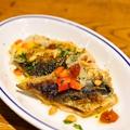 料理メニュー写真秋刀魚とドライトマト カルピオーネ