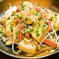 料理メニュー写真豆腐チャンプルー/ソーメンチャンプルー/フーチャンプル―/ゴーヤーチャンプルー(季節限定)