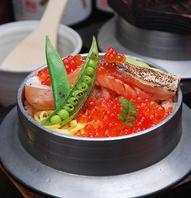 【豪華釜飯】こだわりつまった米と魚味わう…季節釜飯