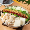 料理メニュー写真■博多もつ鍋(しょう油)