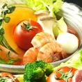 身体に優しい旬の野菜を使用した季節限定メニューもご用意しております!!その日のオススメはスタッフにお声がけください♪