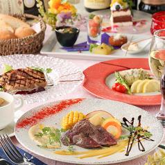 【リーズナブルに】アンティミスト、鰆のポワレ、 米澤豚のグリエ《ファティルコース》