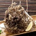料理メニュー写真もずくの天ぷら