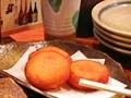 料理メニュー写真カマンベールチーズ入りおじゃがもち(3個)