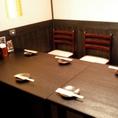 4~12名様用個室×7席 ※人気席の為、団体様でのご利用の際は、ご予約はお早めにお願い致します!他のお客様を気にすることなくゆったりとお食事とお話をお愉しみできます♪当店自慢の人気席の為、お問い合わせはお早めにお願い致します。