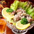 料理メニュー写真鶏砂肝のガーリックイタリアン風味