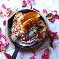 料理メニュー写真キャラメルバナナのフレンチトースト