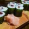 梅しそ巻(Sour plum w/perilla roll-sushi)