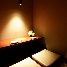 ほんのり灯が燈るカップルシート