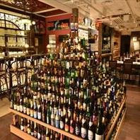 【世界中のビールが250種類以上!お土産用ビールも♪】