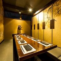 個室は2名~50名以上OK♪コース料理は4,000円~ご用意!