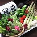 料理メニュー写真<採れたて野菜>続々入荷♪
