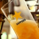 泡までこだわる本物の美味い生ビール。海外ビールも