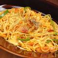【ミジンコ食堂のナポリたん 850円】 トマトの旨味がぎゅ!なつかしい味♪