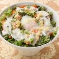 料理メニュー写真長芋ときざみオクラのサラダ 海ぶどう添え