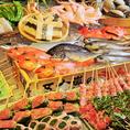 【直送新鮮魚介】毎日、旨い鮮魚を直送で仕入れ!毎日、鮮度抜群の旨い魚を直送で仕入れているので、季節に合わせたその時とびきり美味しい魚をお楽しみいただけます。旬の魚と郷土料理の数々をぜひご賞味ください。